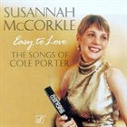 SUSANNAH MCCORKLE Easy to Love: The Songs of Cole Porter album cover