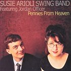 SUSIE ARIOLI Pennies From Heaven album cover