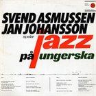 SVEND ASMUSSEN Jazz pa ungerska album cover