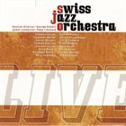 SWISS JAZZ ORCHESTRA Live album cover