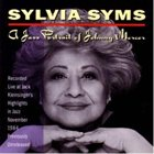 SYLVIA SYMS A Jazz Portrait of Johnny Mercer album cover