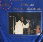TABU LEY ROCHEREAU Rythme Soum Gueye album cover