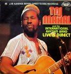 TAJ MAHAL Live & Direct album cover