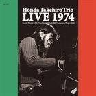 TAKEHIRO HONDA Honda Takehiro Trio LIVE 1974 album cover