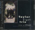 TAYLOR EIGSTI Live at Filoli album cover