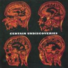 TAYLOR'S UNIVERSE Certain Undiscoveries album cover