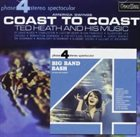 TED HEATH Big Band Bash / Coast to Coast album cover