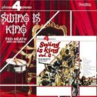 TED HEATH Swing Is King, Volume 1 & 2 album cover