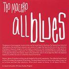 TEO MACERO All Blues album cover