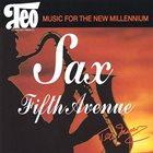 TEO MACERO Sax Fifth Avenue album cover