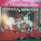 TERESA BREWER At Christmas Time album cover