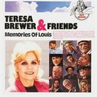 TERESA BREWER Memories of Louis album cover