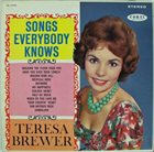 TERESA BREWER Songs Everybody Knows album cover