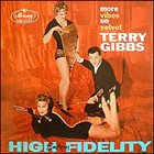 TERRY GIBBS More Vibes On Velvet album cover