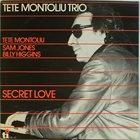 TETE MONTOLIU Secret Love album cover