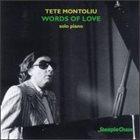 TETE MONTOLIU Words of Love album cover