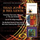 THAD JONES / MEL LEWIS ORCHESTRA Presenting / Live At The Village Vanguard / The Big Band Sound album cover