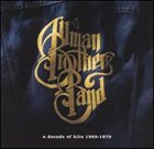 THE ALLMAN BROTHERS BAND A Decade of Hits: 1969-1979 album cover
