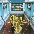 THE ALLMAN BROTHERS BAND Beacon Theatre, New York City, October 22, 2014 album cover