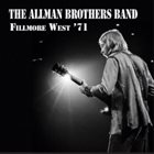 THE ALLMAN BROTHERS BAND Fillmore West '71 album cover