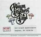 THE ALLMAN BROTHERS BAND Instant Live, Mud Island Amphitheatre, Memphis, TN 10/05/04 album cover