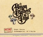 THE ALLMAN BROTHERS BAND Instant Live: Murat Centre - Indianapolis, IN, 7/25/03 album cover