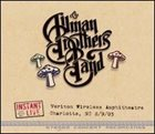 THE ALLMAN BROTHERS BAND Instant Live, Verizon Wireless Amphitheatre, Charlotte, NC, 8/9/03 album cover