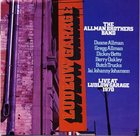 THE ALLMAN BROTHERS BAND Live at Ludlow Garage 1970 album cover