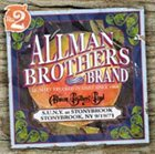 THE ALLMAN BROTHERS BAND S.U.N.Y. at Stonybrook: Stonybrook, NY, 9/19/71 album cover