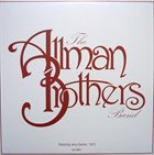 THE ALLMAN BROTHERS BAND The Allman Brothers Band Featuring Jerry Garcia / 1973 Volume 3 album cover