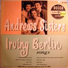 THE ANDREWS SISTERS Irving Berlin Songs album cover