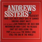 THE ANDREWS SISTERS The Andrews Sisters Present album cover