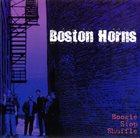 THE BOSTON HORNS Boogie Stop Shuffle album cover