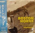 THE BOSTON HORNS Speedball album cover