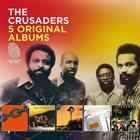 THE CRUSADERS 5 Original Albums album cover
