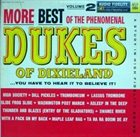 THE DUKES OF DIXIELAND (1951) More Best Of The Phenomenal Dukes Of Dixieland, Volume 2 album cover