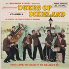 THE DUKES OF DIXIELAND (1951) On Bourbon Street With The Dukes Of Dixieland, Volume 4 album cover