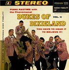 THE DUKES OF DIXIELAND (1951) Piano Ragtime With The Dukes Of Dixieland, Volume 11 album cover