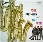 THE FOUR FRESHMEN 4 Freshmen and 5 Saxes album cover