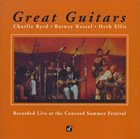 THE GREAT GUITARS Charlie Byrd / Barney Kessel / Herb Ellis ‎: Great Guitars album cover