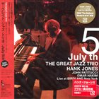 THE GREAT JAZZ TRIO July 5th, Live at Birdland, New York album cover
