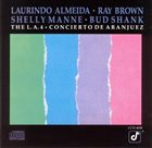 THE L.A. FOUR Concierto de Aranjuez album cover