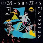 THE MANHATTAN TRANSFER The Manhattan Transfer Live album cover