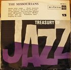 THE MISSOURIANS Treasury Of Jazz N°13 album cover