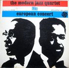 THE MODERN JAZZ QUARTET European Concert (aka En Europe) album cover