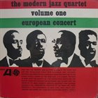 THE MODERN JAZZ QUARTET European Concert Vol.1 (aka Stockholm Concert ) album cover
