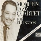 THE MODERN JAZZ QUARTET For Ellington album cover