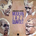 THE MODERN JAZZ QUARTET Longing For The Continent album cover