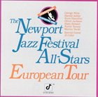 THE NEWPORT JAZZ FESTIVAL ALL-STARS / GEORGE WEIN & THE NEWPORT ALL-STARS European Tour album cover