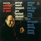 THE NEWPORT JAZZ FESTIVAL ALL-STARS / GEORGE WEIN & THE NEWPORT ALL-STARS Midnight Concert In Paris album cover